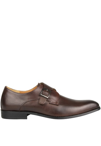 Tomaz brown Tomaz F230 Single Monkstrap Loafers (Coffee) 355BDSH323CCCEGS_1