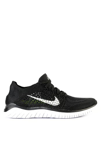 90ca9e68615 Nike black and white Nike Free RN Flyknit 2018 Running Shoes  5FC60SH8ED588AGS_1