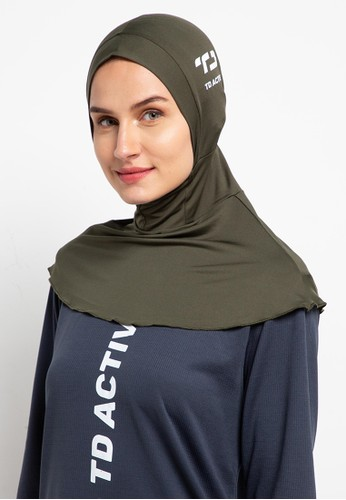 TD Active green sport hijab betta 39912AA09521B5GS_1
