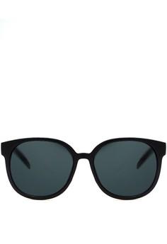 The Rebound in Black Matte Sunglasses