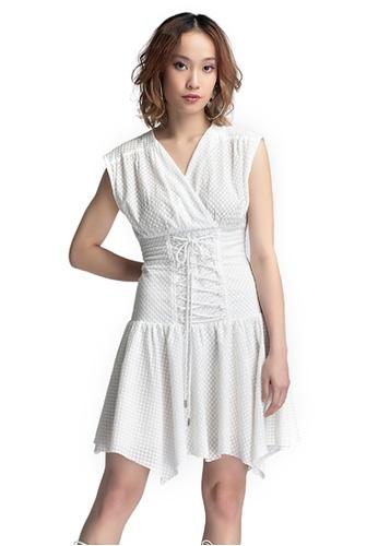 Akosée white Leah Corset Dress 029F4AA7A79FB4GS_1