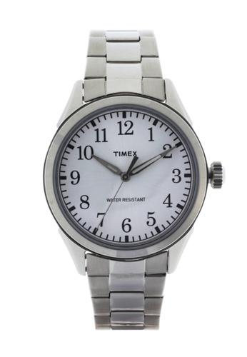TIMEX silver Classic Watch for Men TI205AC42AVPPH_1