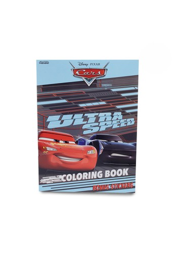 Disney blue Cars Coloring Book L (Ultra Speed) 71958TH8850FEEGS_1