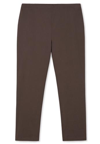 MS. READ 褐色 MS. READ Signature Ultra-Stretch Long Pants 47268AAE9E2772GS_1