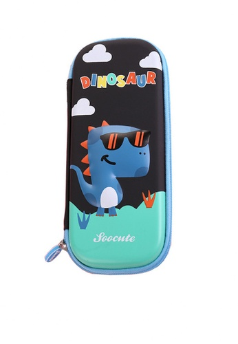 Twenty Eight Shoes black VANSA 3D Cartoon Pencil Case  VAK-A99887 48BC1KC0285EE8GS_1