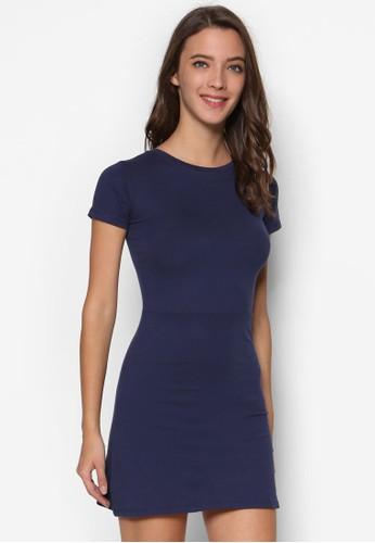 簡約休閒Tesprit hk 恤連身裙, 服飾, 洋裝