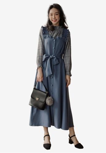 3d57d305164546 Buy Tokichoi Ruffle Ribbon Tie Dress Online on ZALORA Singapore