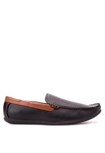 Wade black Smart Casual Loafers WA436SH89JXQPH_1