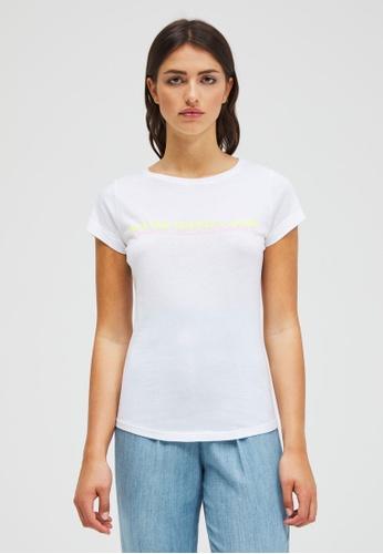 Sisley Printed T-shirt 2AF83AACF785E2GS_1