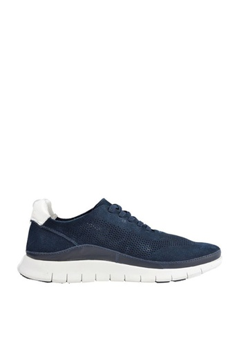 Vionic navy Fresh Tucker Lace Up Sneakers 9F9ABSHA510C55GS_1