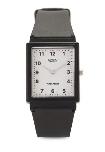 Casio black Casio Enticer Analog White Dial Men's Watch CA843AC90ADLMY_1