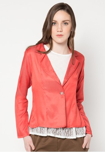 WISHFUL red Farron Blazer WI930AA23YTWID_1