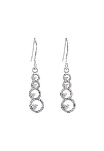Carlton London white Drop Earrings 66C04AC9B5BF11GS_1