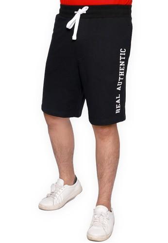 Rigato black Short Pant Hallindo 65D59AA9B23ED1GS_1