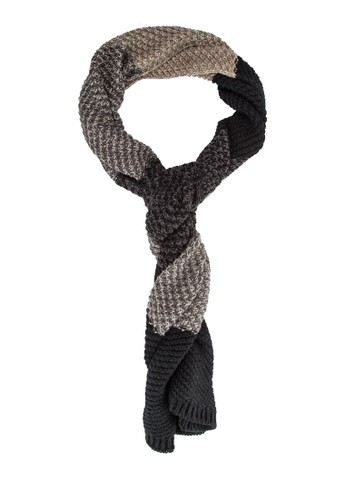 男士色塊拼接esprit台灣官網針織圍巾, 飾品配件, 飾品配件