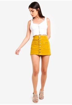 2d769940af 68% OFF Free People Joanie Corduroy Mini Skirt S$ 116.00 NOW S$ 36.90 Sizes  29 in
