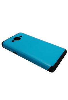 Sleek Shockproof Case for Samsung Grand Prime (Blue)