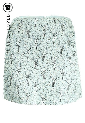 Marni beige Pre-Loved marni Printed Mini Skirt D1FFCAAE3B81F5GS_1