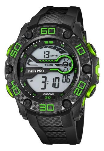 Calypso green Sporty Men's Watches CAL K5691/2 791C7AC118ECF9GS_1
