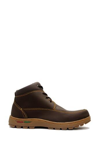 Cut Engineer brown Cut Engineer Apple Mens Safety Boots Iron Dark Brown 1551CSH0FDBC89GS_1