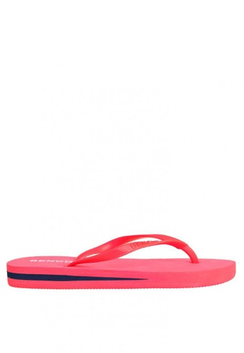 BENCH red Rubber Slippers BE550SH0JXQRPH_1