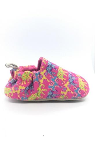 Poco Nido yellow and multi Poco Nido Indian Elephant Mini Shoes BC2BBKS3C7B353GS_1