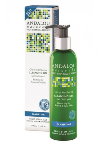 Andalou Naturals Citrus Kombucha Cleansing Gel AN136BE68OXNSG_1