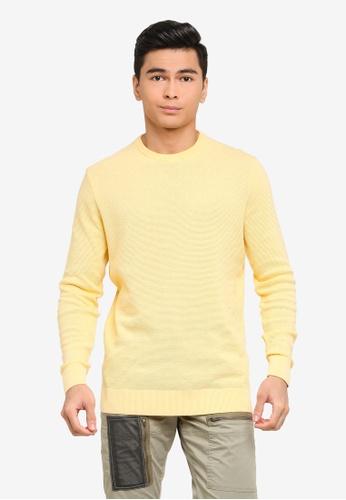 LC Waikiki yellow Thin Knitwear Sweater 7770EAAC6DE46AGS_1