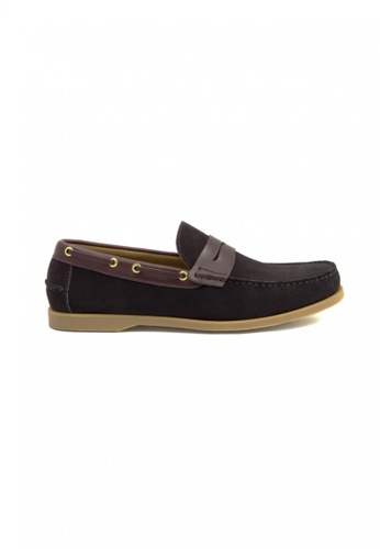 Tomaz brown Tomaz C241 Penny Boatshoes (Coffee) TO717SH19YAQMY_1