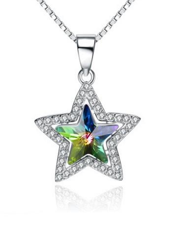 LYCKA silver LPP88068 S925 Silver Necklace 3C3F2ACA605B66GS_1
