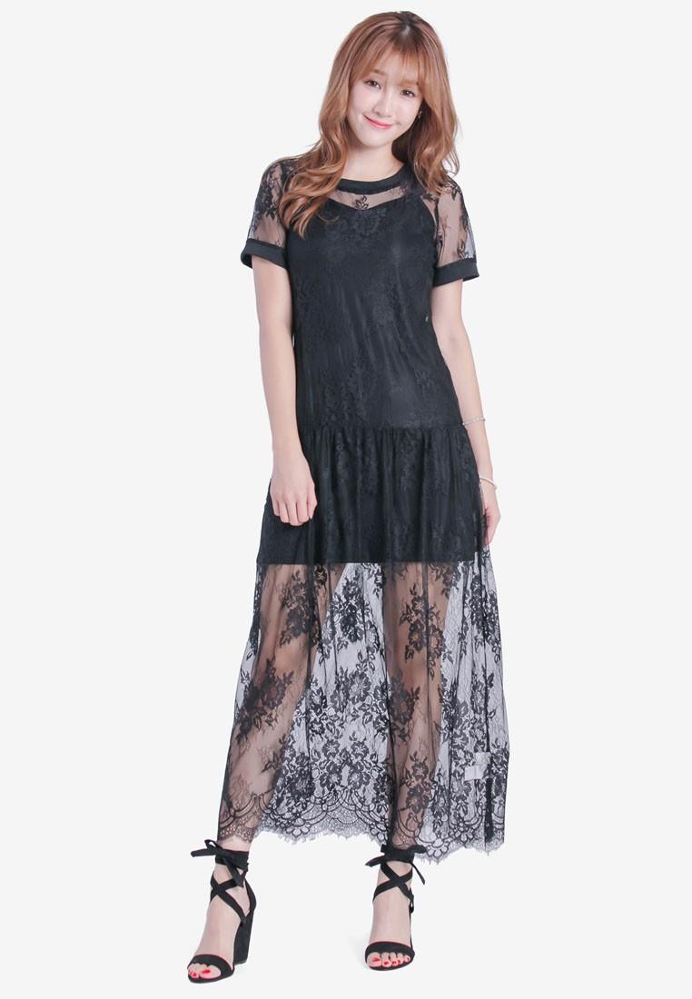 Dress In Romantic Lace