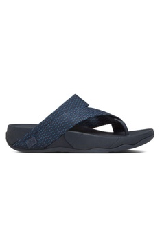 9b8cf28b8 Fitflop blue Fitflop Sling Weave Toe Post Super Navy  Deep Blue  2D1C7SH6939B7DGS 1