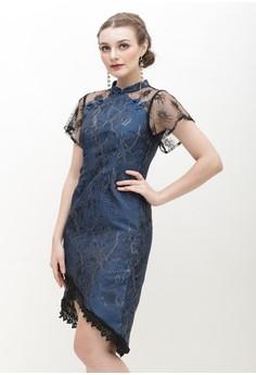 c7608d51f ESYE blue Emmeline Cheongsam Dress Blue A223FAA4F6B3BBGS_1
