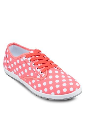 點點印zalora 心得花休閒鞋, 女鞋, 休閒鞋
