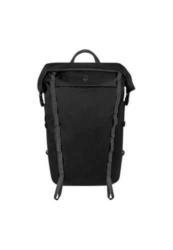 Victorinox black Victorinox Active Roll Top Laptop Backpack CBE39AC358BD4FGS_1