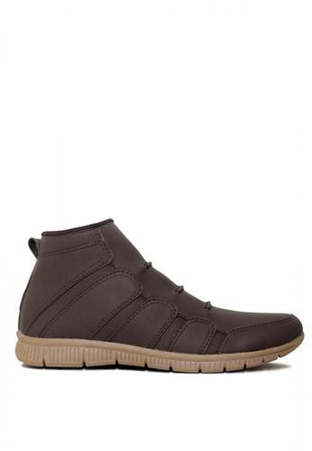 D-Island brown D-Island Shoes Slip On Fold Office Mens Brown 2F68ASHA37C935GS_1