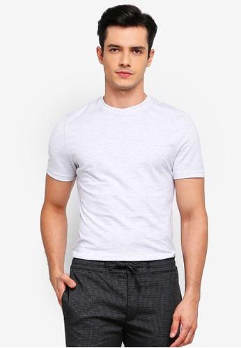 Topman 灰色 短袖T恤 1E3A3AA1EE434AGS_1