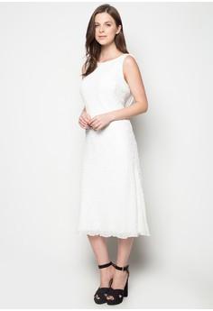 Embellished Wedding Midi Dress