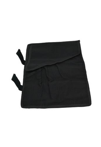 KitchenPro black Knife Roll Bag With 5 Slots 4C46EHLF1F8A90GS_1