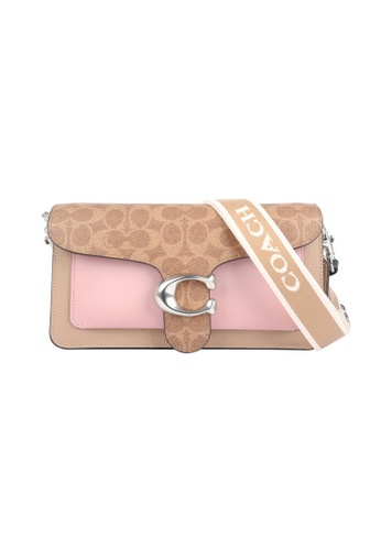Coach brown Coach Tabby 26 Shoulder Bag in Brown,Pink E3BECAC7EFDE3EGS_1