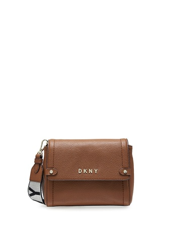 DKNY brown DKNY Women Beca Crossbody 7845AAC15EC609GS_1
