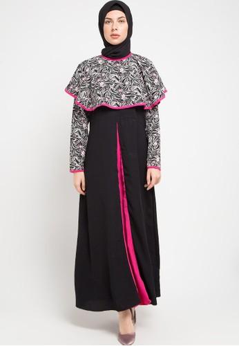 Meemaa Style black Shade of Romance Dress by Meemaa Style 59F50AAAD6F984GS_1