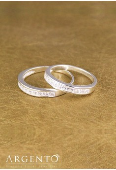 925 Sterling Silver Couple Ring - Soulmate