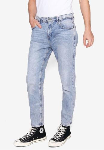 Cotton On blue Beckley Straight Jeans 23D5FAAFA0E44EGS_1