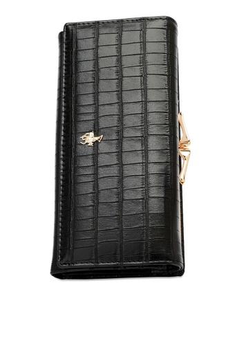Swiss Polo black Long Wallet A9E3BACF56B914GS_1