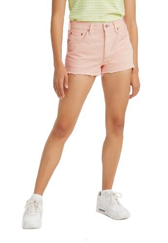 Levi's pink Levi's 501 Original Short You're A Peach (56327-0202) A4CE9AAE695A7DGS_1