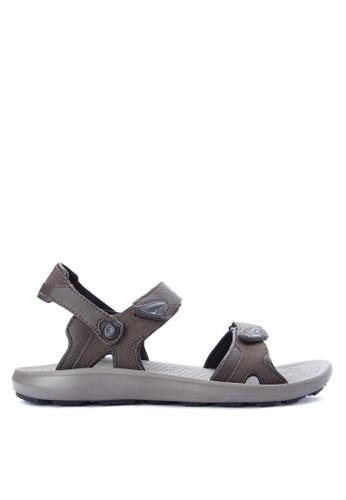 Columbia grey Techsun Interchange Men's Shoes 75D8CSH88C99AFGS_1