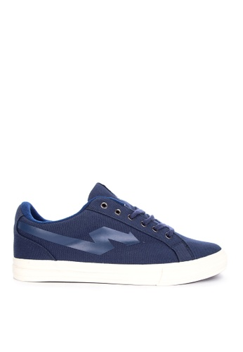 SONNIX blue Windu Q118 Sneakers with Free Exclusive Sonnix Backpack 794CFSH7B3810BGS_1