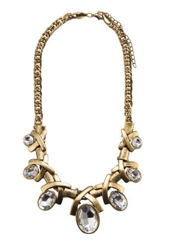 Eesprit hk storelegant Gem Necklace, 飾品配件, 項鍊