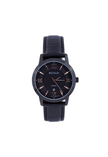 BONIA black Jam Tangan Bonia Rosso Jam Tangan Wanita BR166-3733 Original E3529AC627F8D0GS_1
